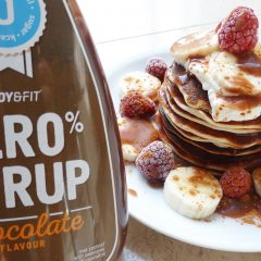 Pancakes met Body & Fit Syrup