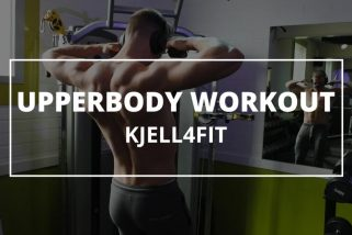 Upperbody training routine