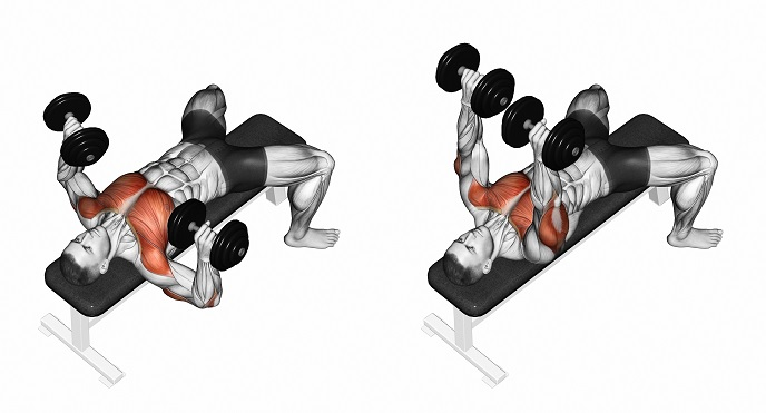Dumbbell press