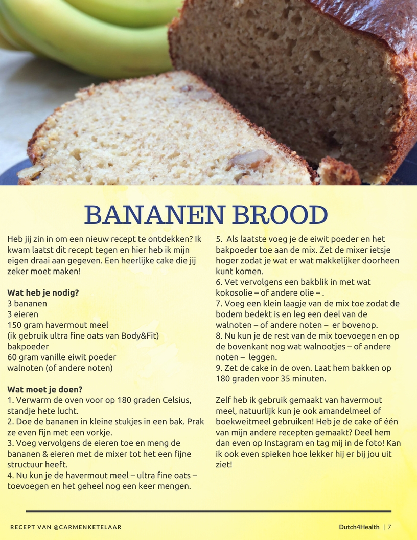 bananen brood